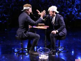"Watch: Bradley Cooper and Jimmy Fallon Go Head-to-Head in a Game of ""Egg Russian Roulette"""