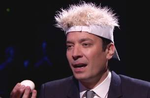 Jimmy Fallon, Bradley Cooper Play Russian Roulette… with Eggs